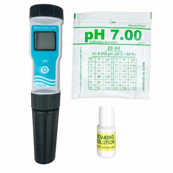 Water-I.D. Electronic pH Meter FT6012 Pooltester