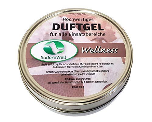 Sauna Duftgel Wellness 80g