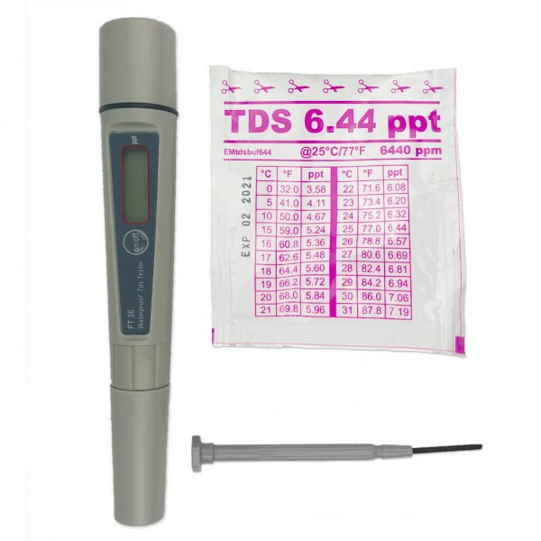 Water-I.D Electronic Meter FT36 TDS-Tester